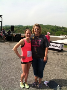 Chrissy Hale, breast cancer survivor more than once! She's a pillar of strength and I am proud to know her.